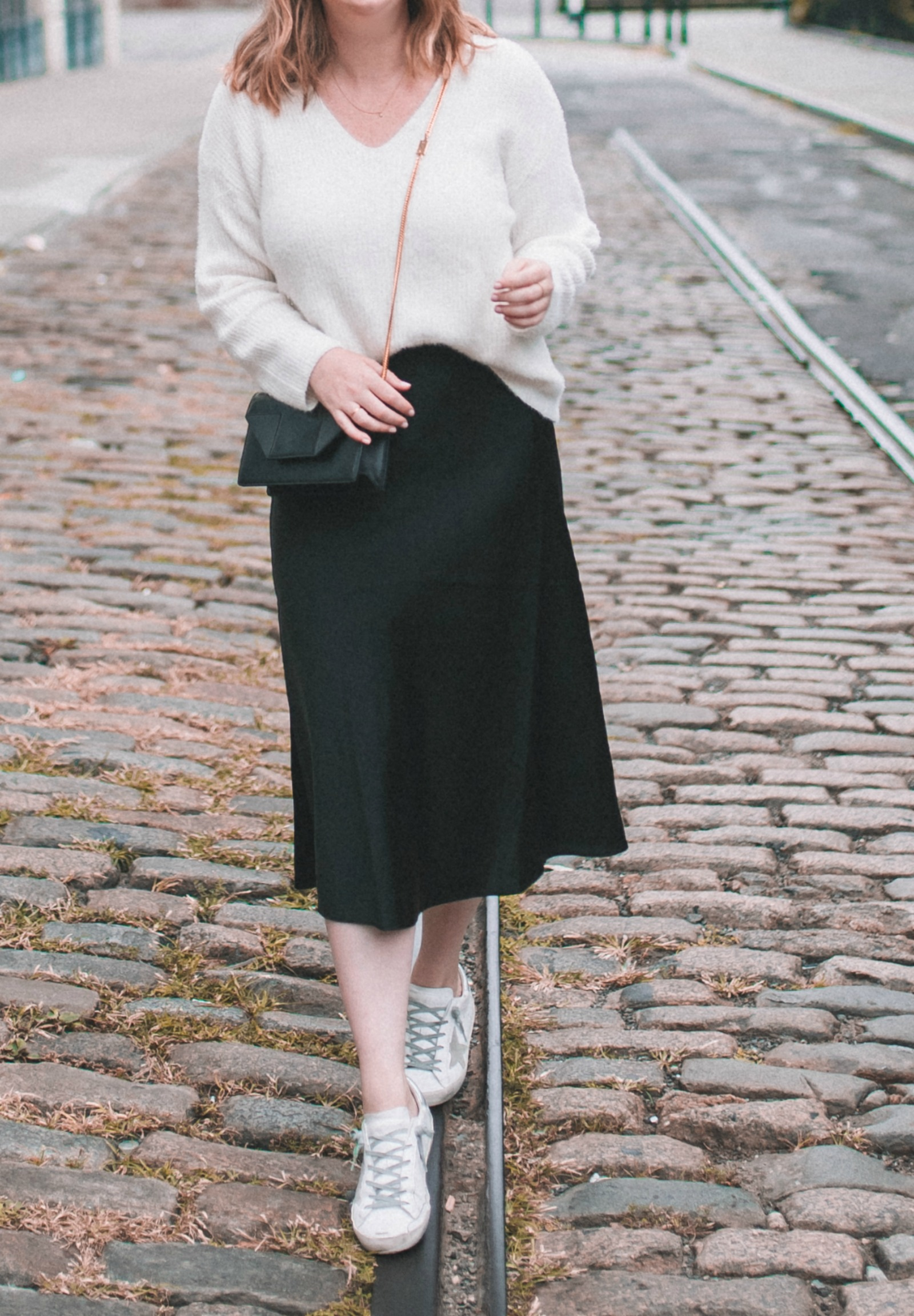 Styling a Silk Midi Skirt I wit & whimsy