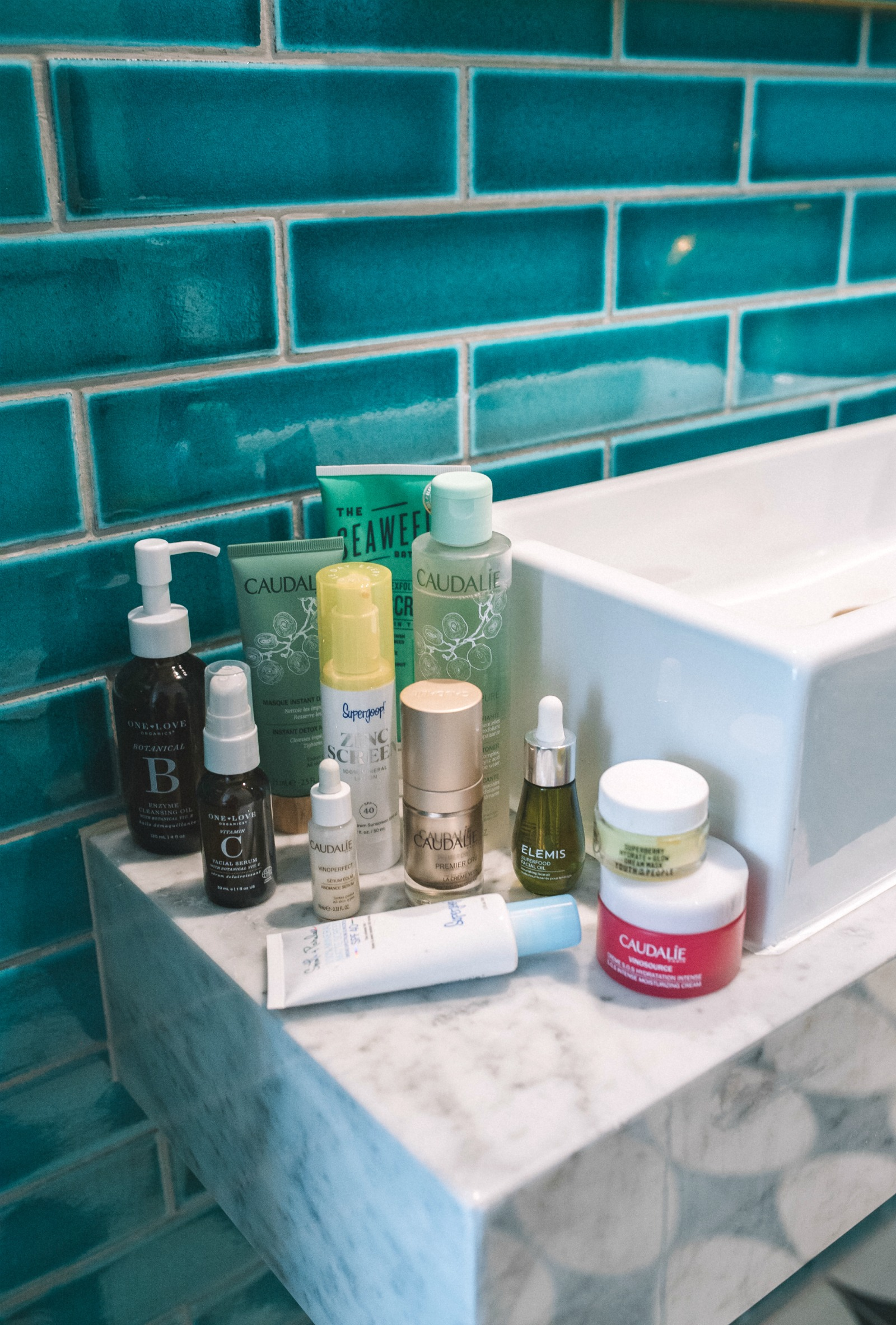 Clean Beauty Routine products