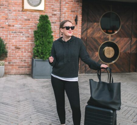 My Go-To Travel Outfit for Red Eyes + Some Handy Tips