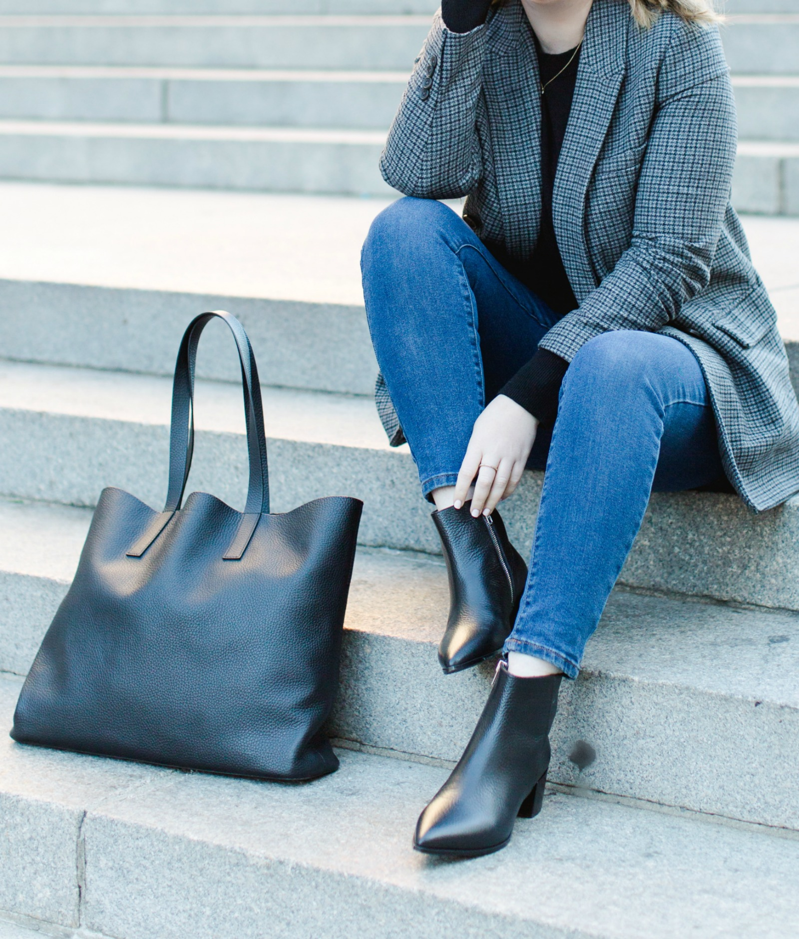 Everlane Boots and Blazers I wit & whimsy