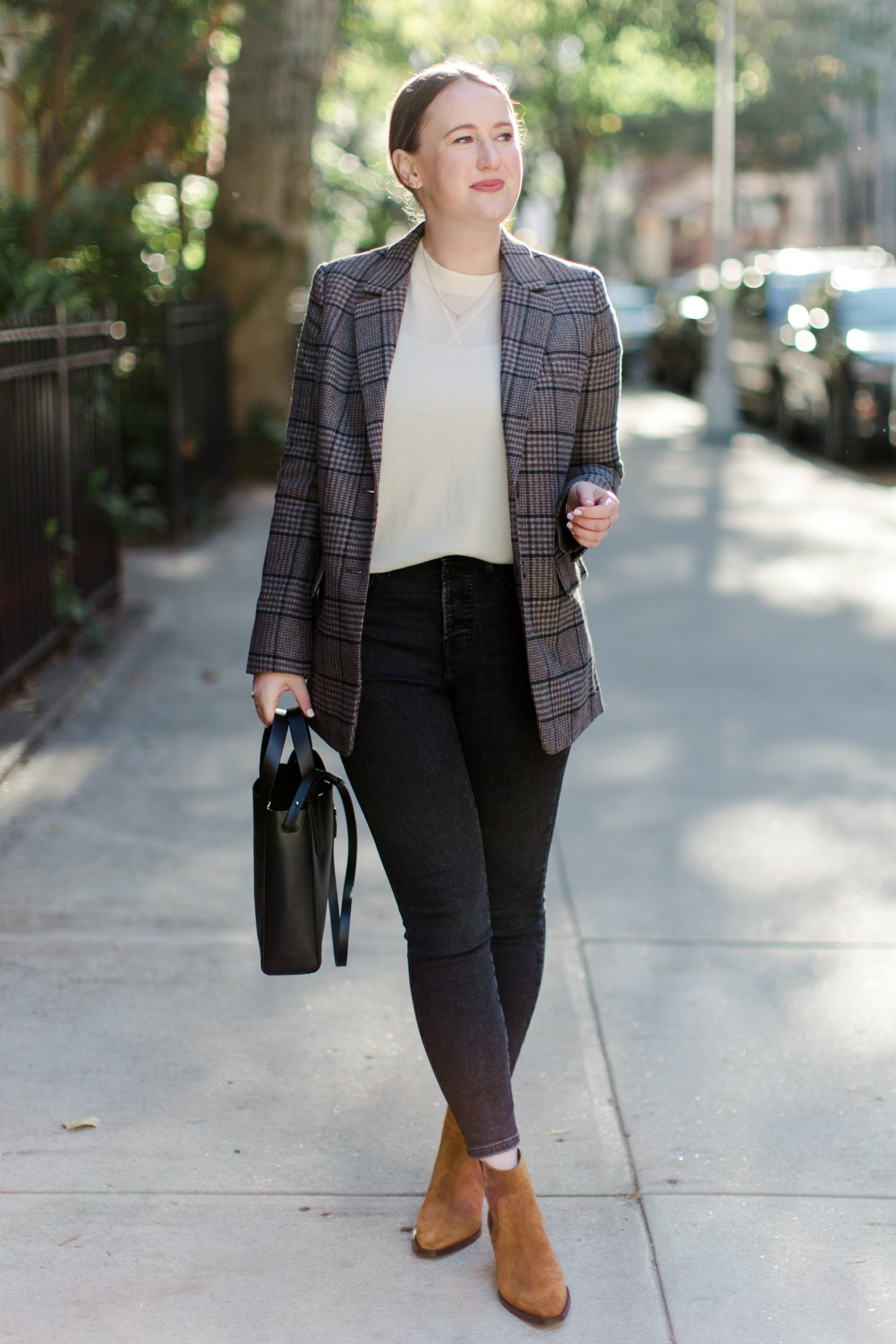 Everlane Boots and Blazers I wit & whimsy - FALL/WINTER WARDROBE STAPLES