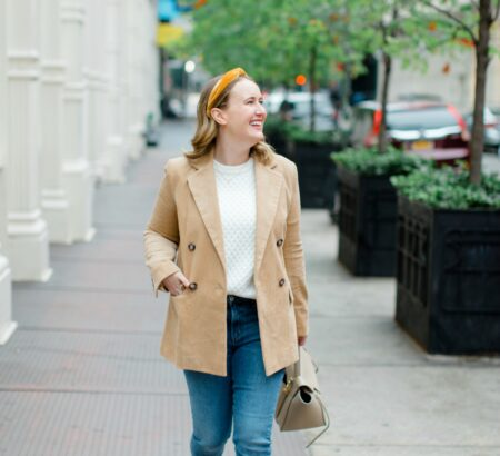 Blair Waldorf-Inspired Preppy Fall Outfit