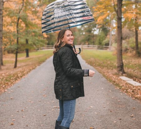 Rainy Day Fall Outfit