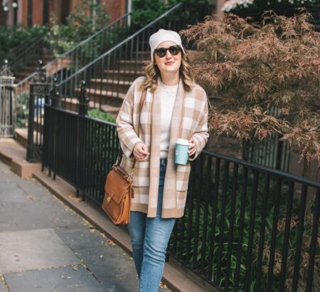 Two Madewell Cardigans Styled