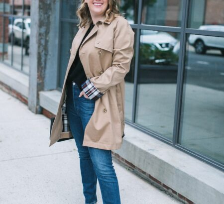 Trench Coat Weather + An Everlane Cashmere Sale