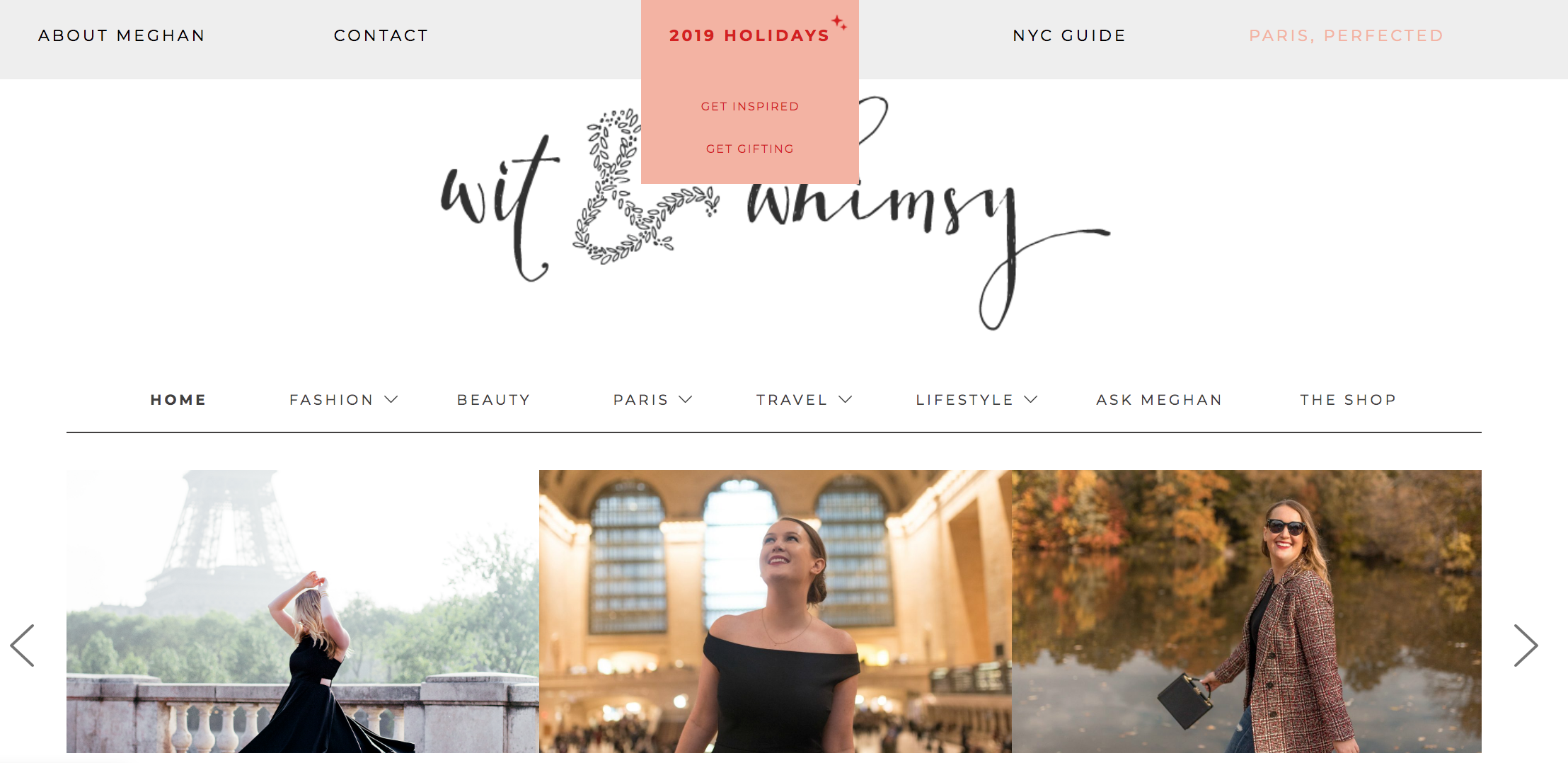 wit & whimsy 2019 Holidays