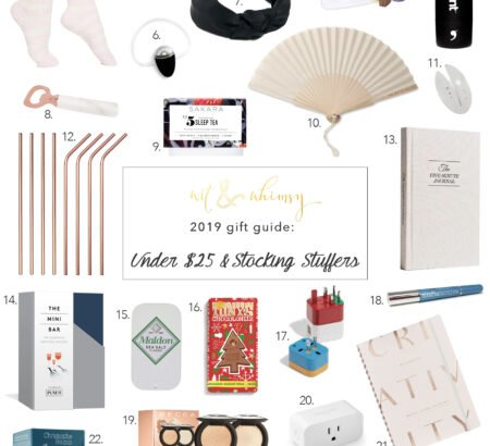 Affordable Gifts For Under $25 & Stocking Stuffers
