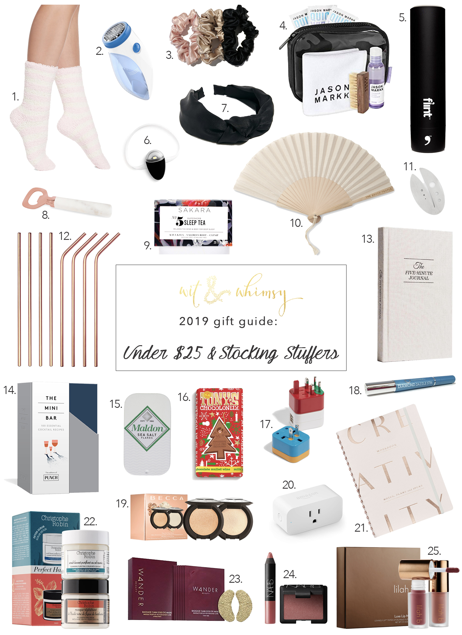 Affordable Gifts and Stocking Stuffers I wit & whimsy