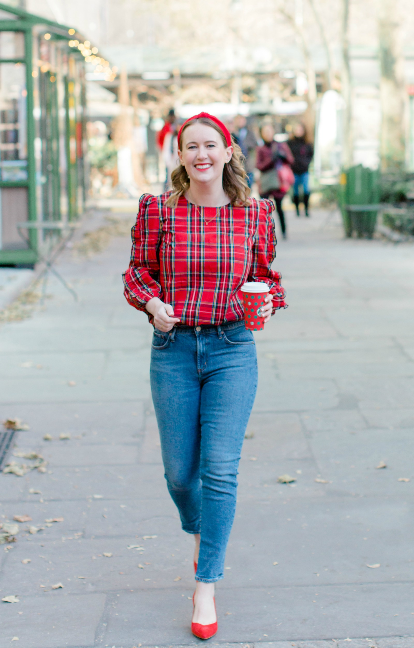 Festive Outfit I wit & whimsy