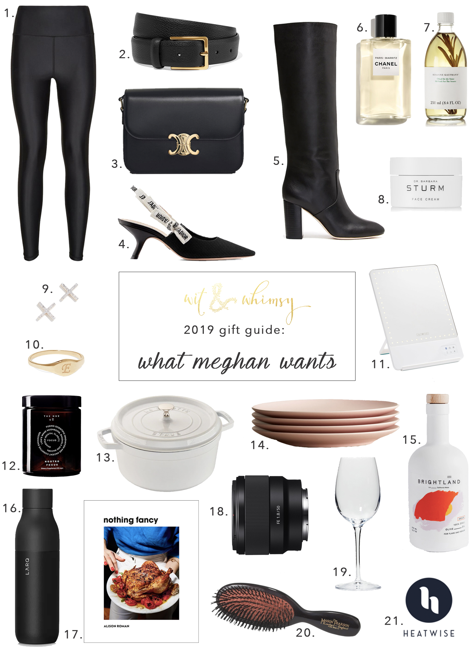 What Meghan of wit & whimsy wants for Christmas I wit & whimsy