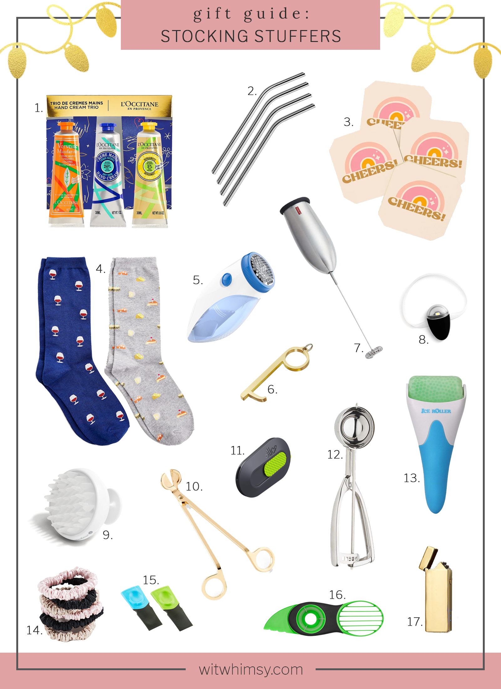 Stocking Stuffers I wit & whimsy