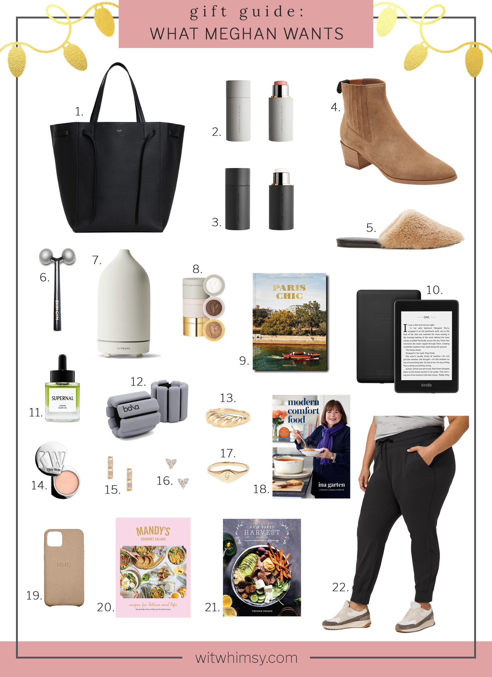 What Meghan Wants for Christmas I wit & whimsy