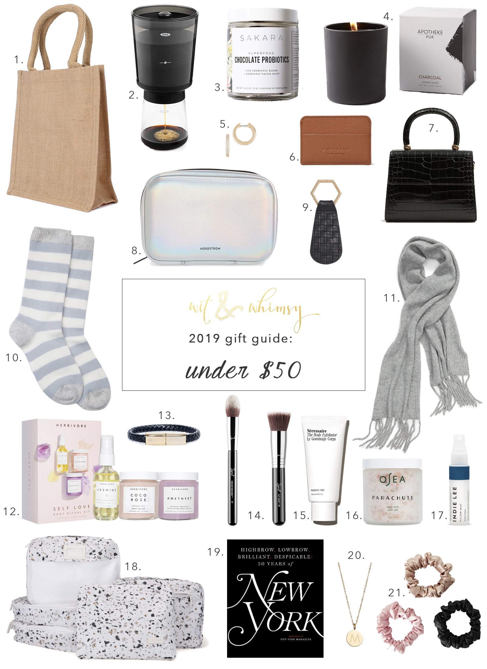 Gifts Under $50 I wit & whimsy