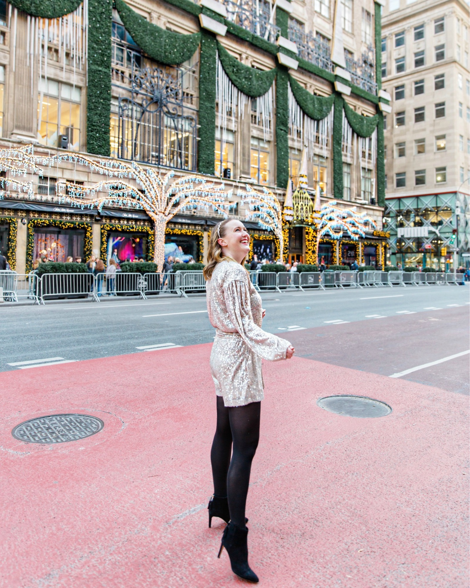 Sequin Romper I wit & whimsy