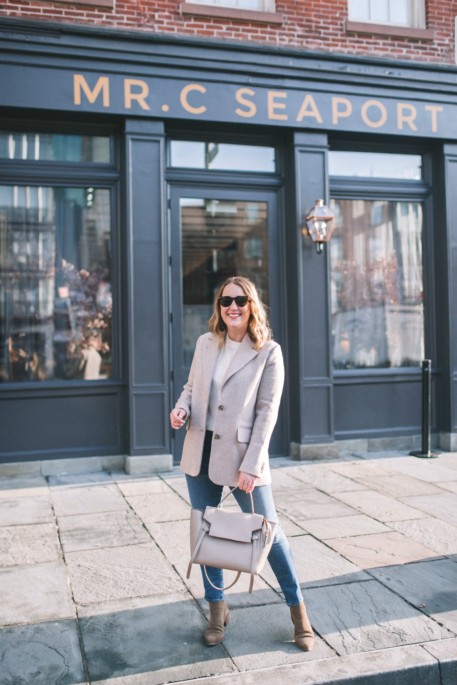 Easy Outfit with Blazer I wit & whimsy