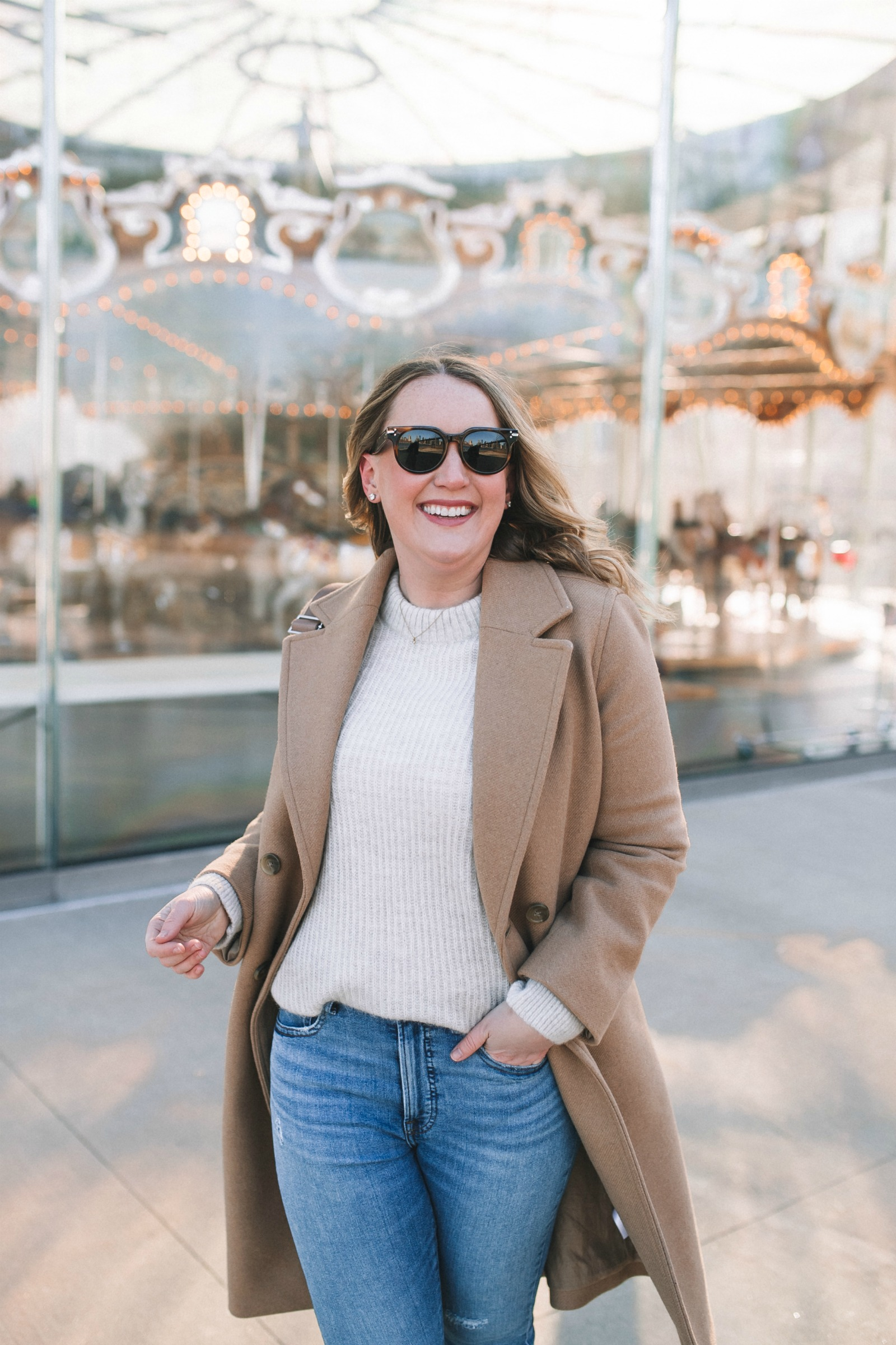 Easy Every Day Everlane Outfit I wit & whimsy