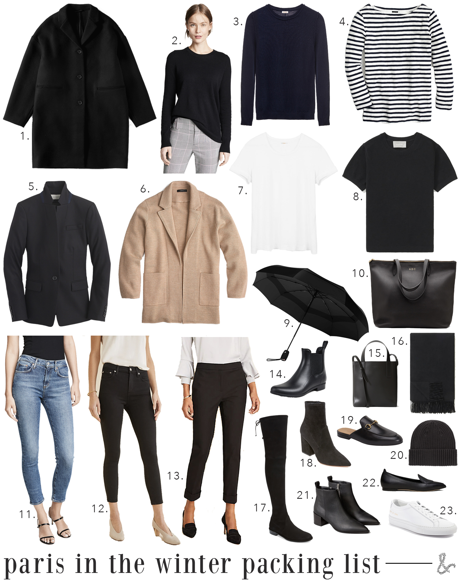 What to Pack for Paris in the Winter I wit & whimsy