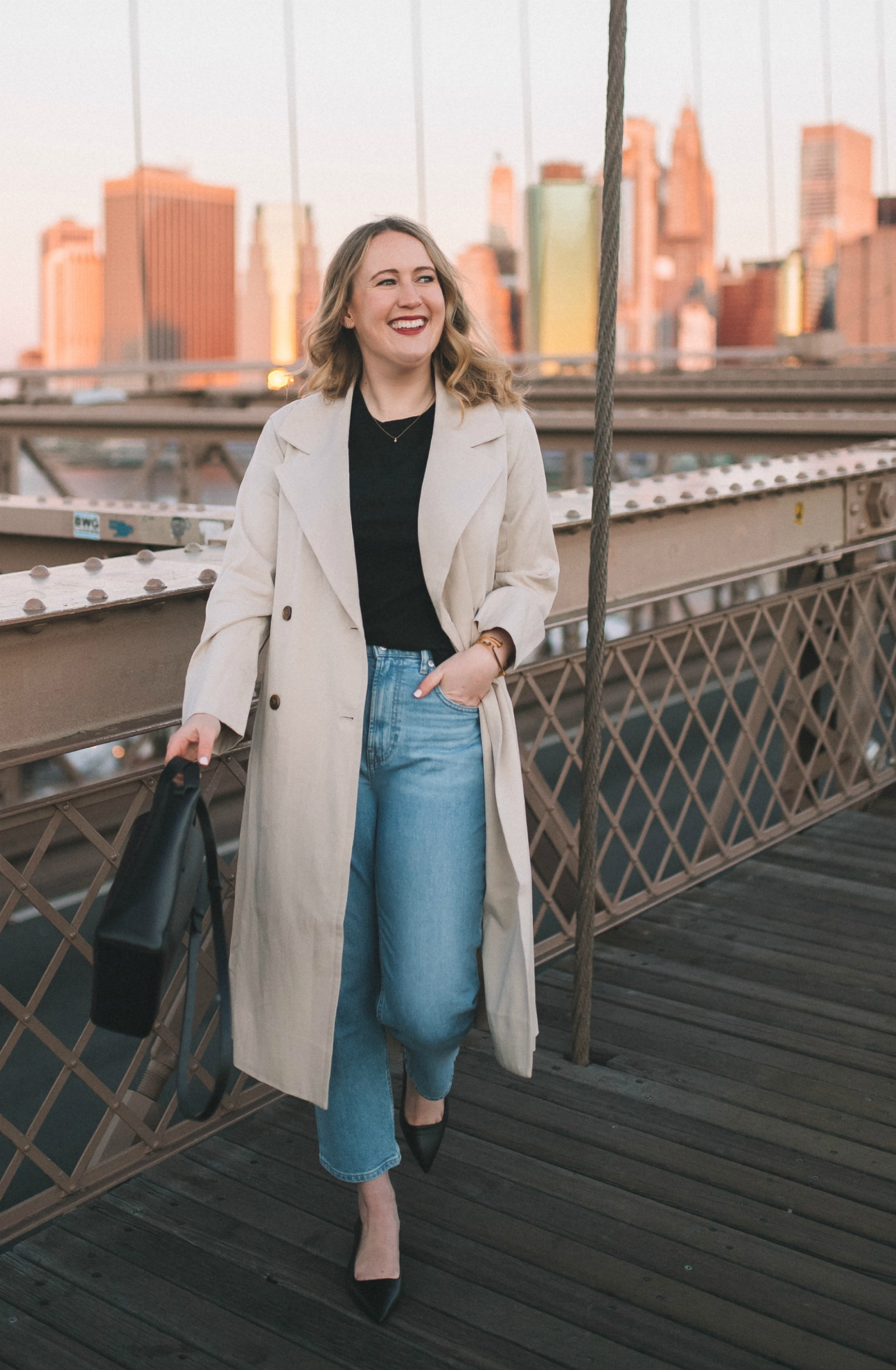 Everlane Drape Trench I wit & whimsy