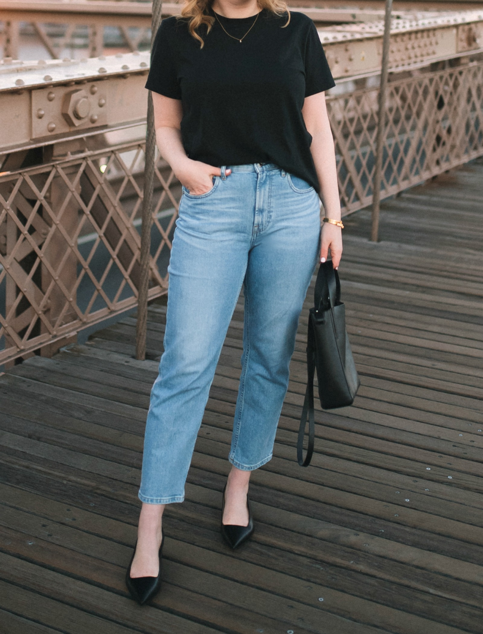 Everlane Cheeky Straight Jeans I wit & whimsy