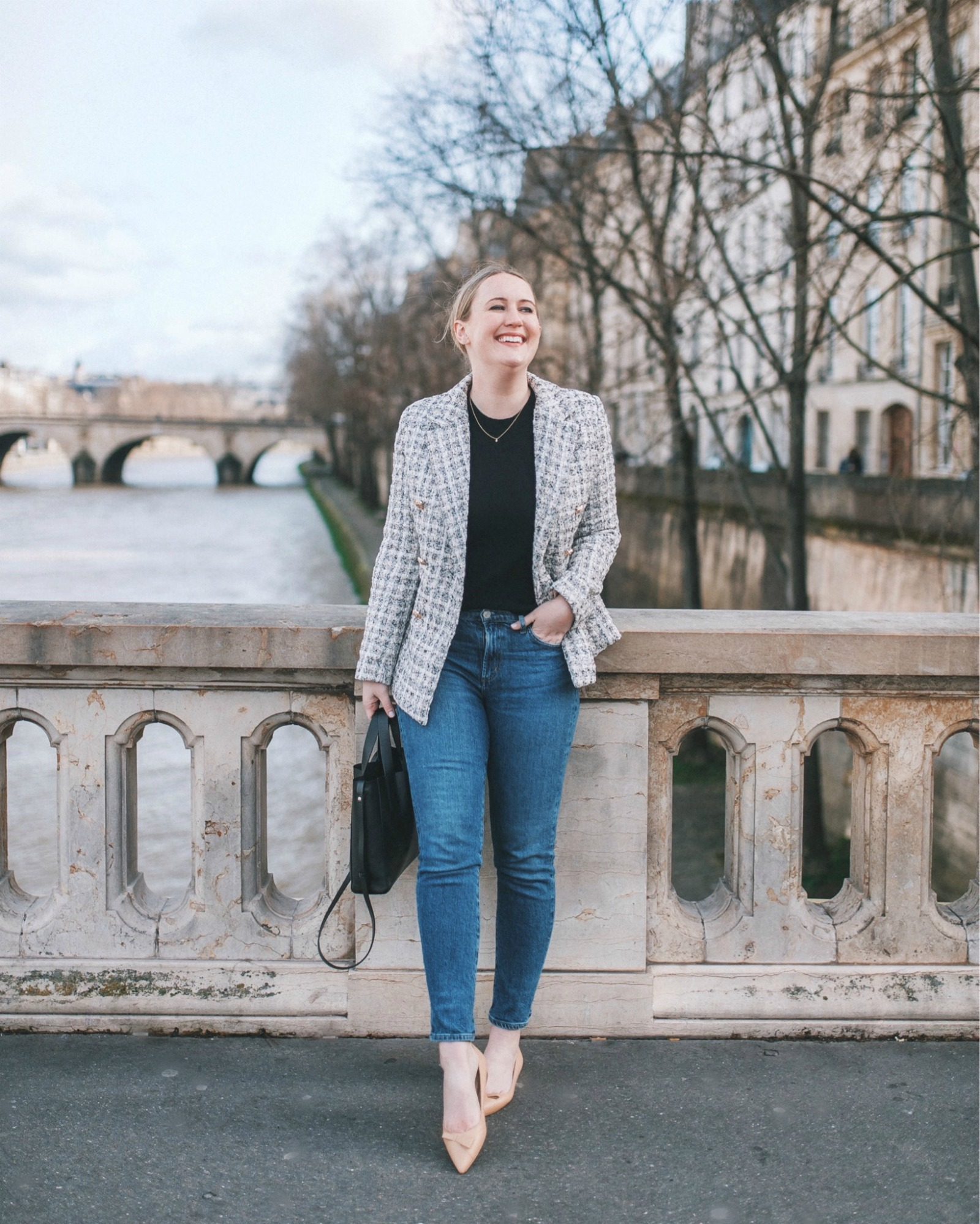 French Girl Closet Staples Parisian Inspired Outfit I wit & whimsy