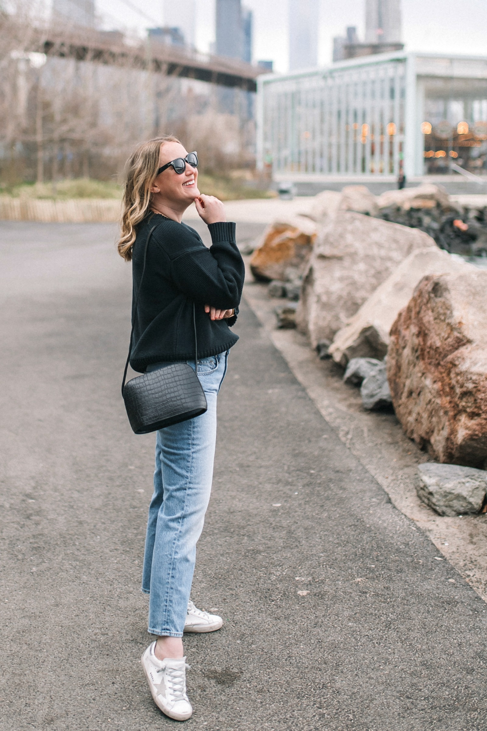 Everlane Link Stich Sweater I wit & whimsy