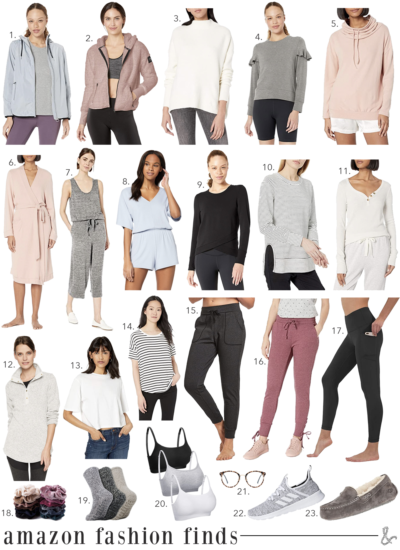 Best of Amazon Loungewear I wit & whimsy