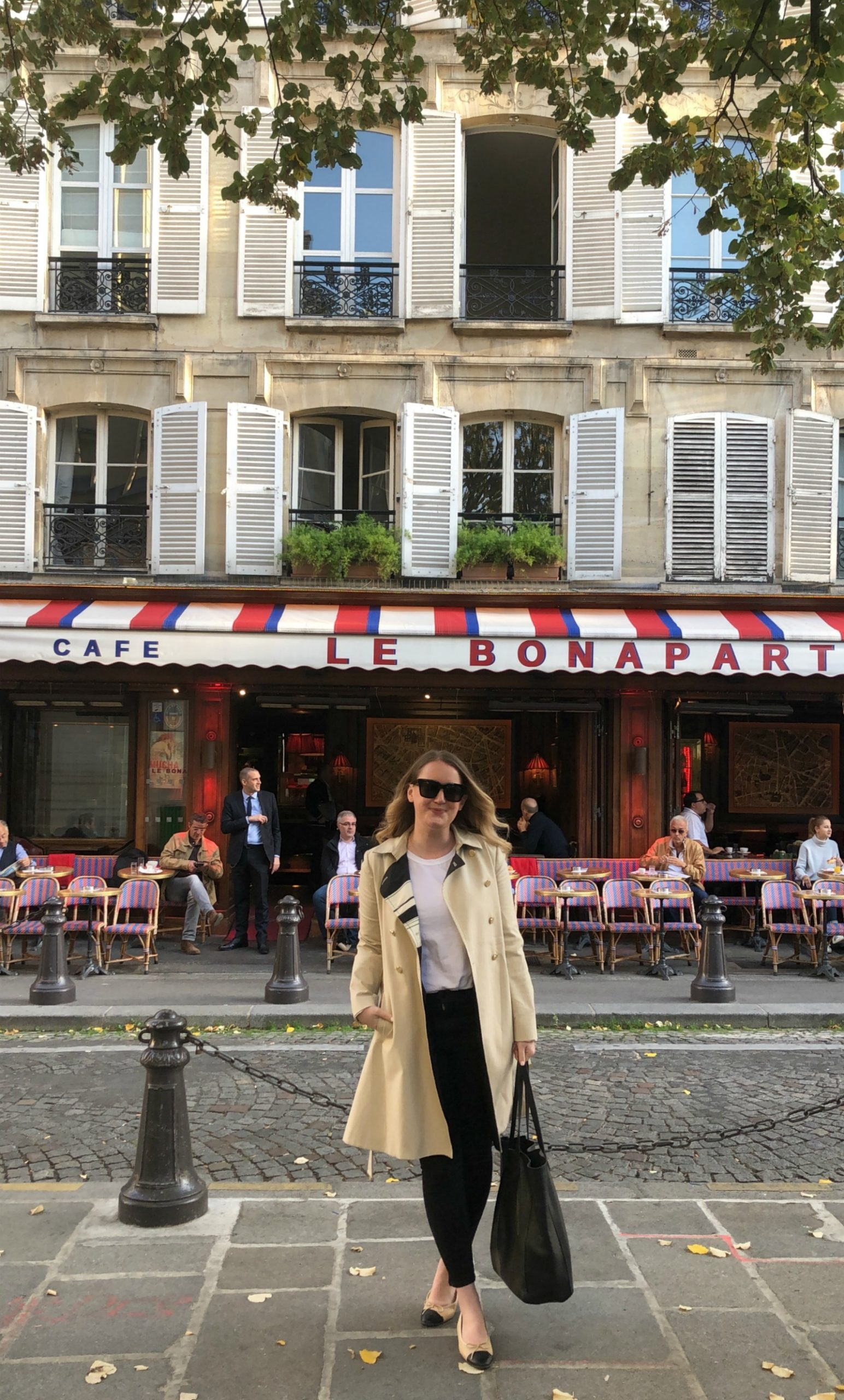 French Girl Closet Staples Paris café I wit & whimsy