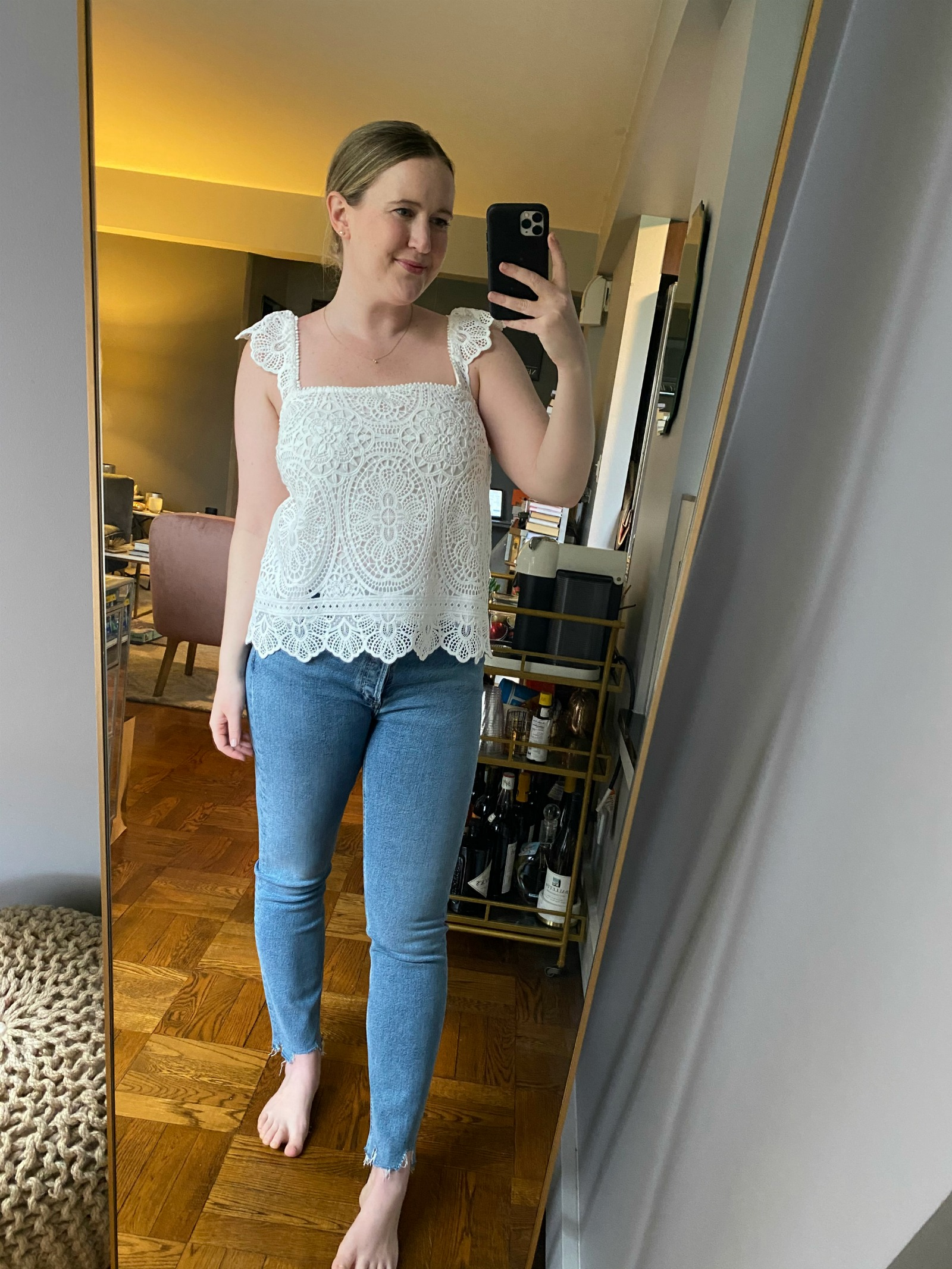 Sezane Lace Top | Things Ill Be Wearing This Summer