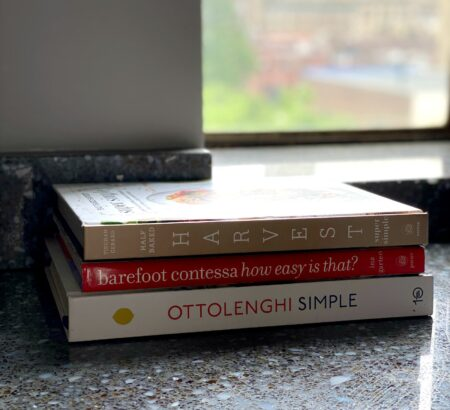 Three Favorite Cookbooks