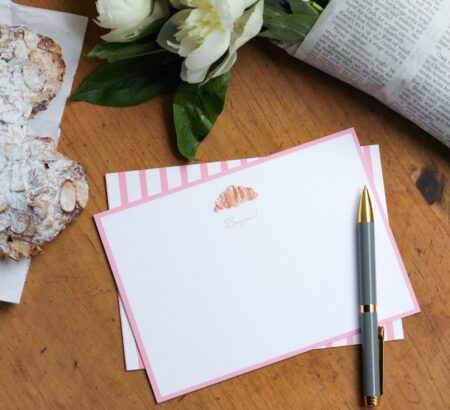 Introducing wit & whimsy x The Illustrated Life Stationery
