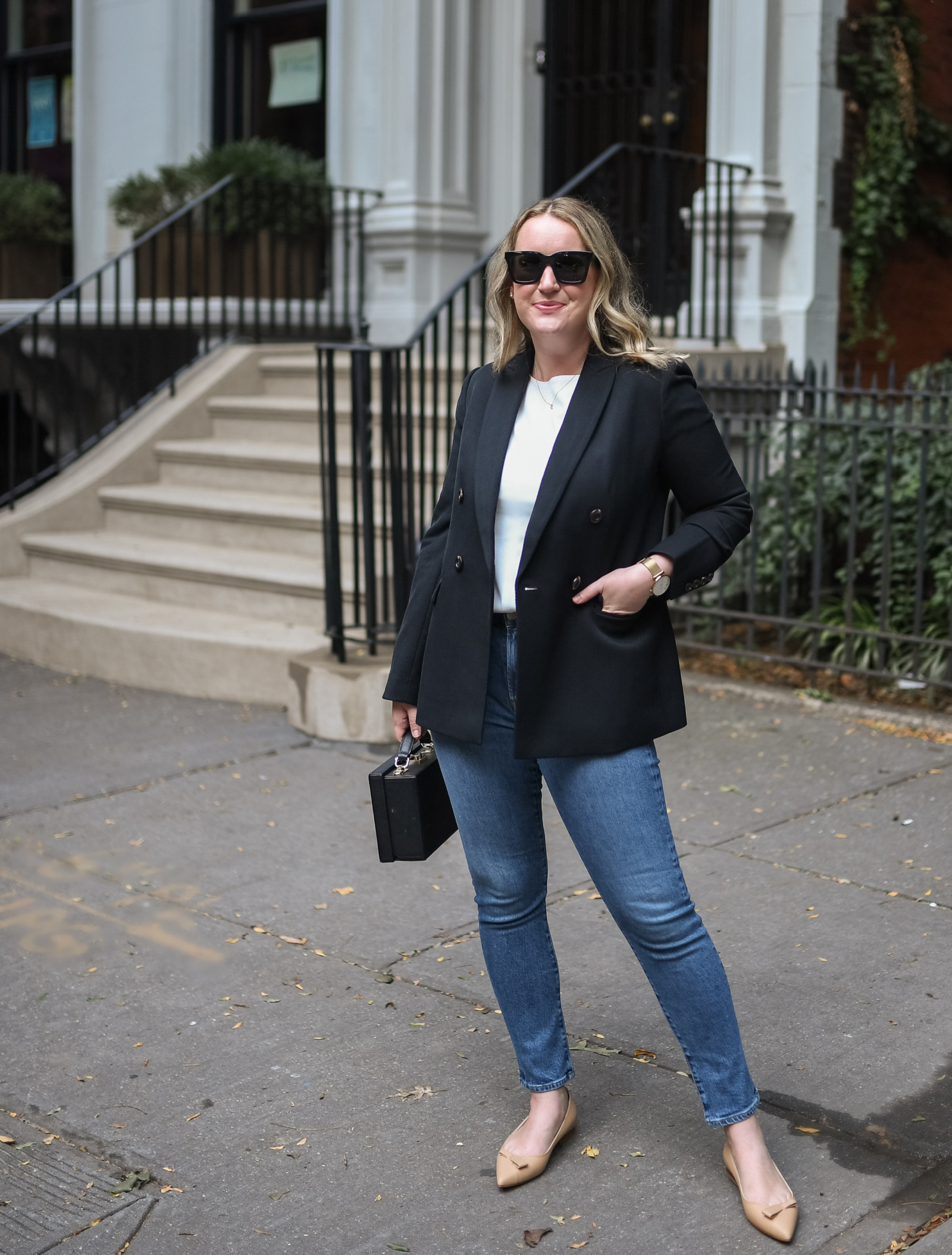 Ann Taylor Casual Blazer I wit & whimsy