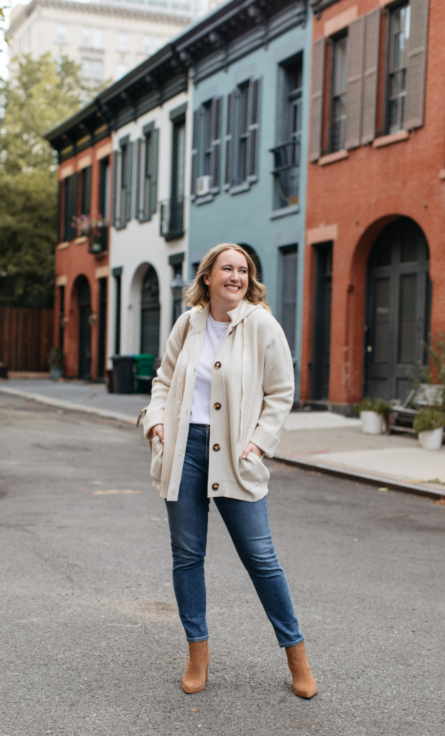 Hooded Cardigan I wit & whimsy