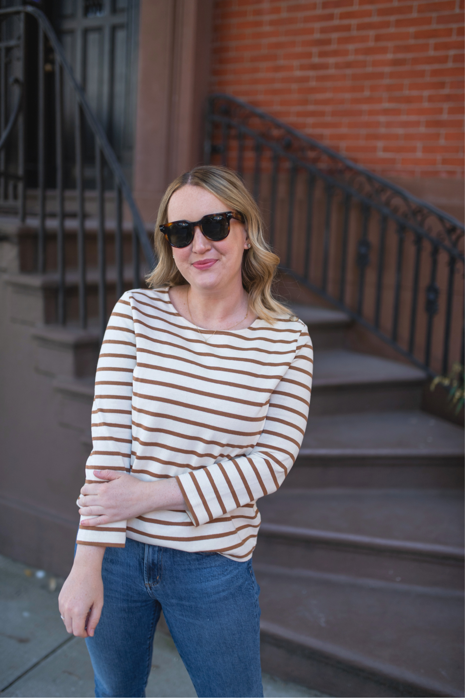 French Girl Style Striped Tee I wit & whimsy