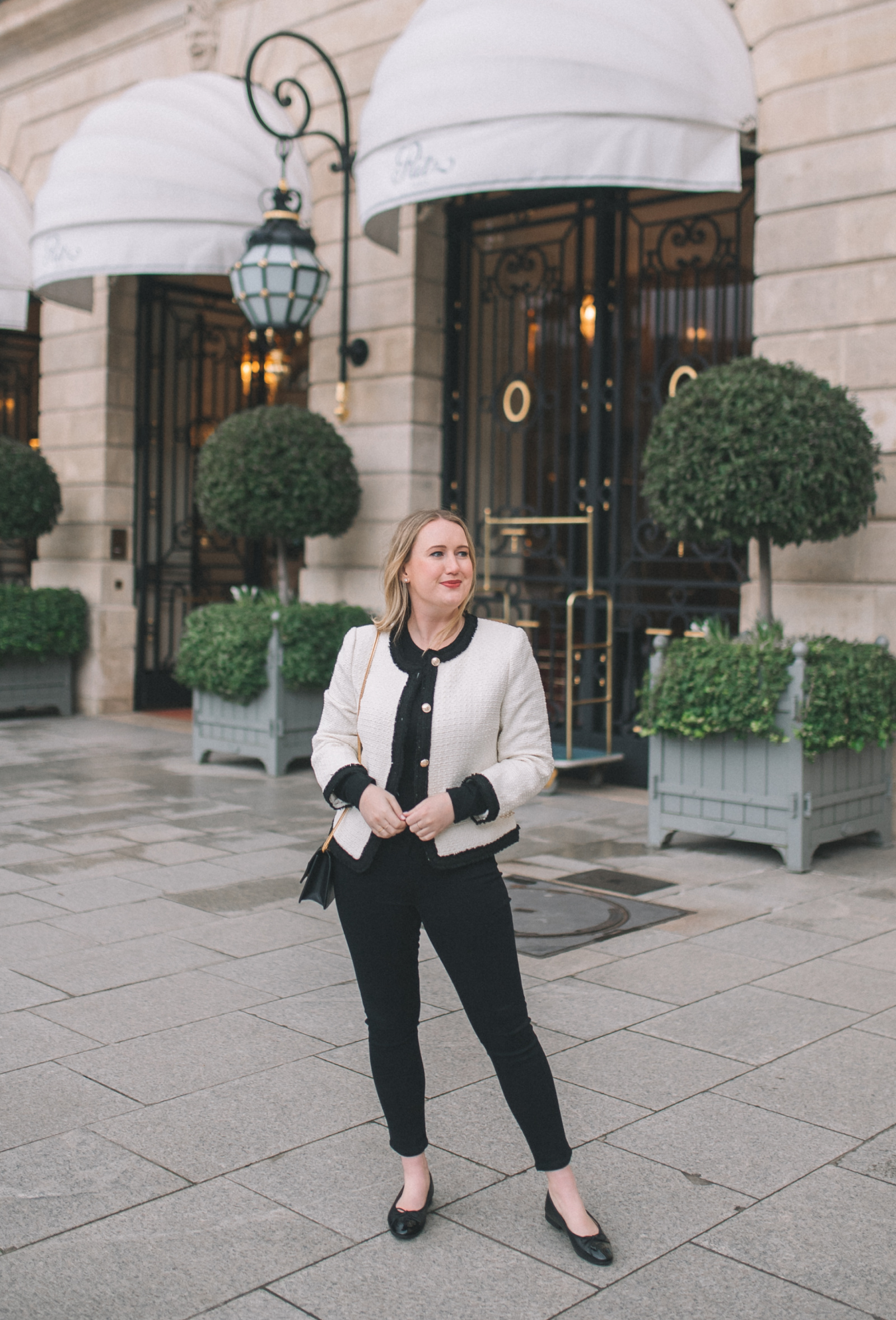 The Chic Tweed Jacket I wit & whimsy