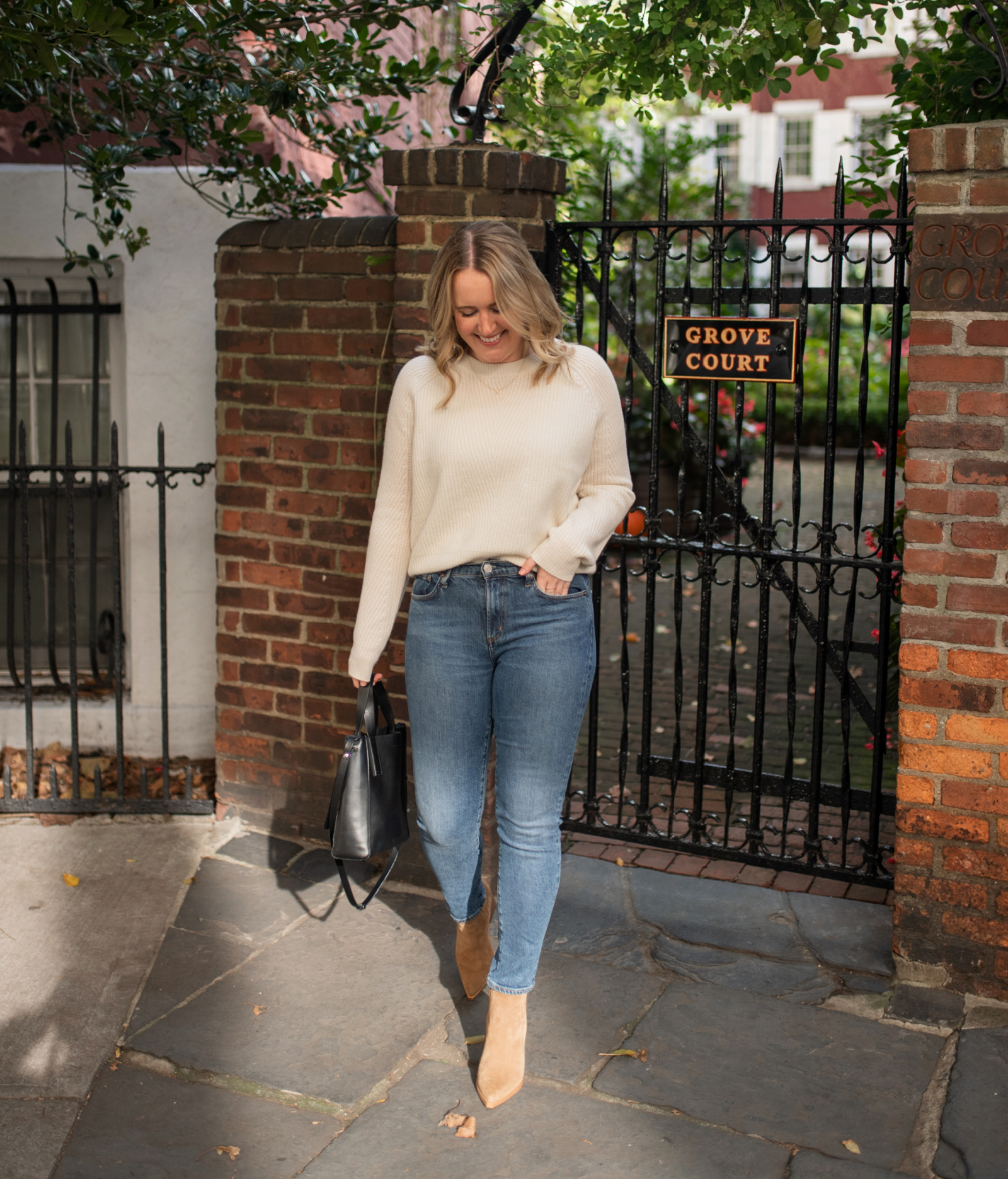 Cozy, Ribbed Cashmere Sweater I wit & whimsy
