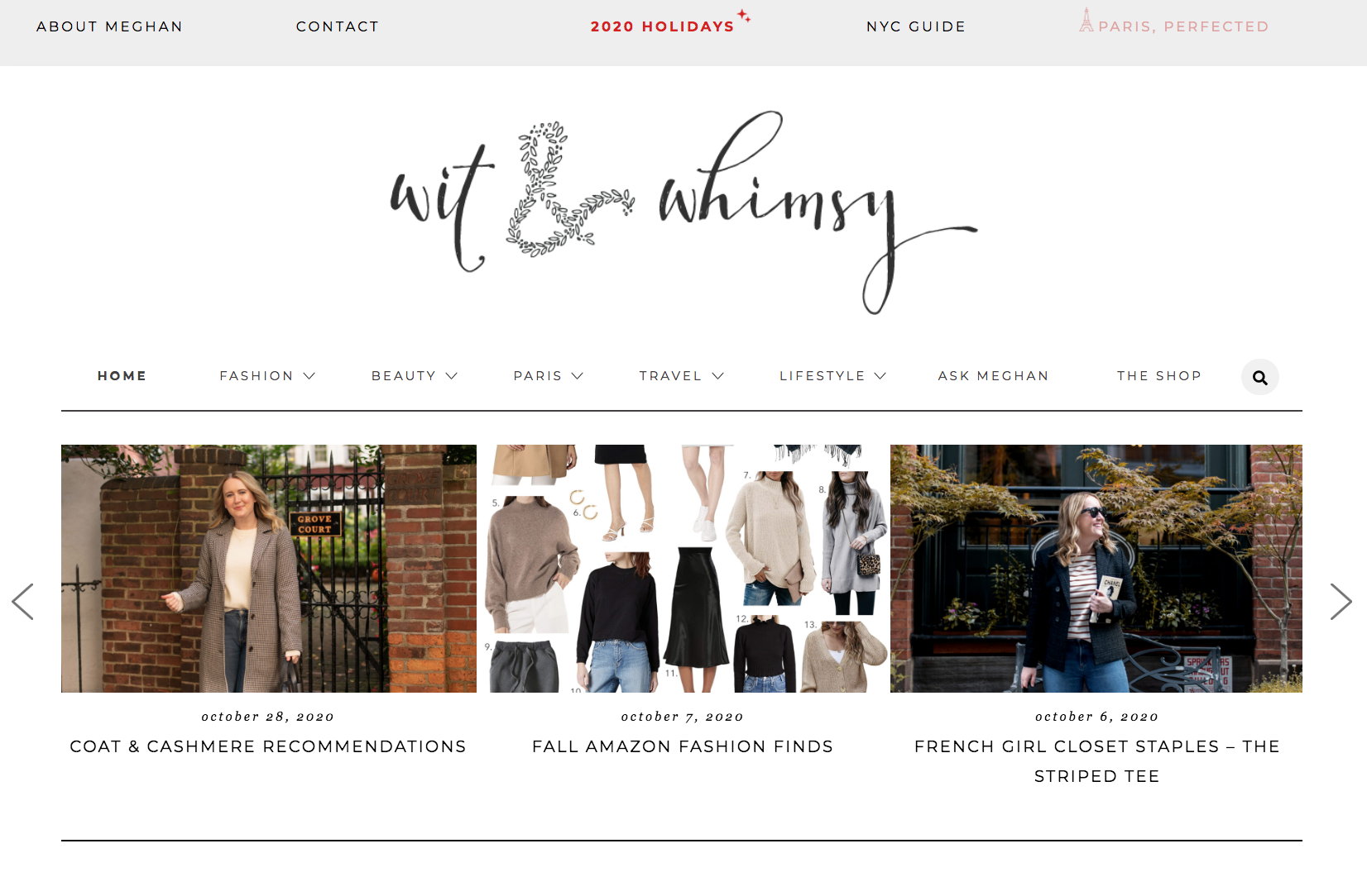 wit & whimsy Holiday Hub