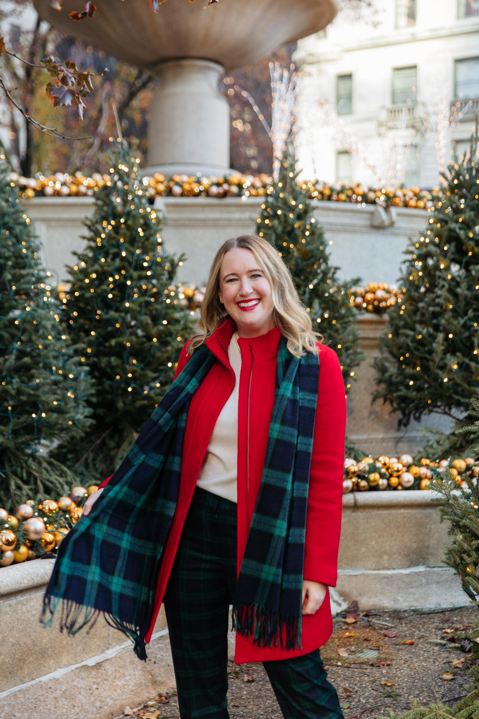 Talbots Holiday Outfit