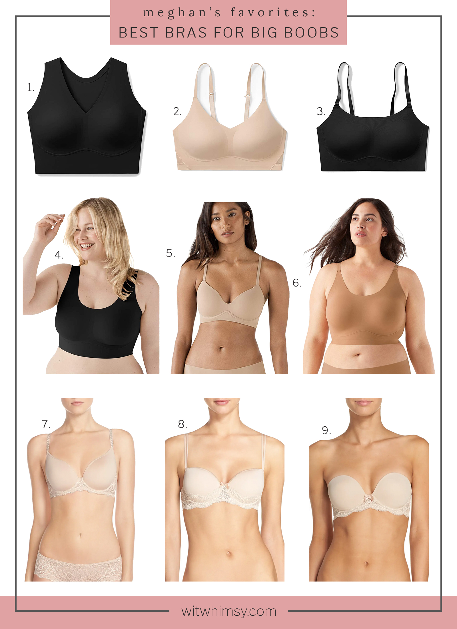 Best Every Day Bras for Big Chests